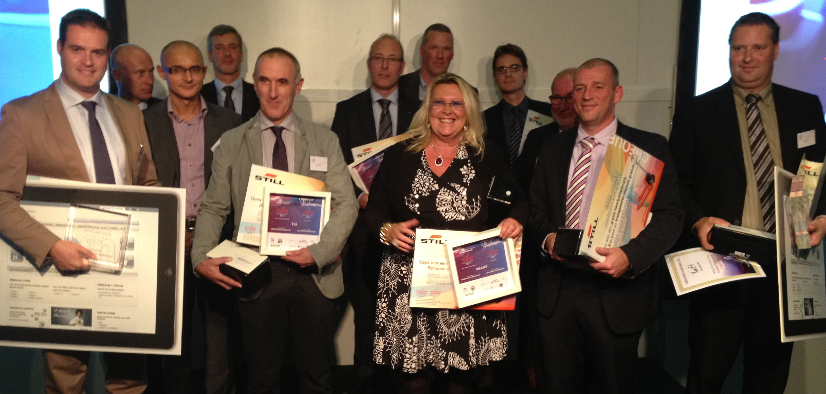 Laureaten van de Trends Gazellen Transport & Logistics2012