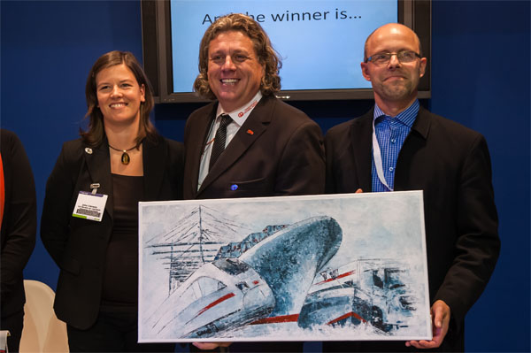 Corneel Geerts Transport wint de Shortsea Award 2013