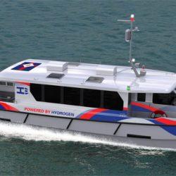 Rederij CMB doopt eerste passagiersschip op waterstof