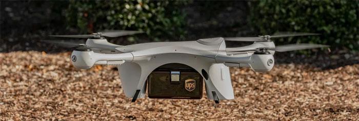UPS levert medicijnen met drones in VS