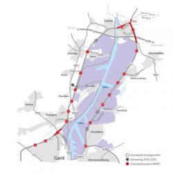 Ombouw R4 rond Gent versterkt North Sea Port
