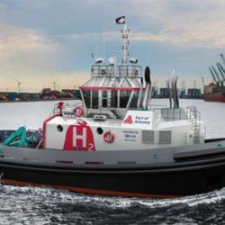Wereldprimeur voor haven van Antwerpen: eerste waterstof aangedreven sleepboot