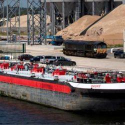 Helft goederen van North Sea Port naar achterland gaat via binnenvaart