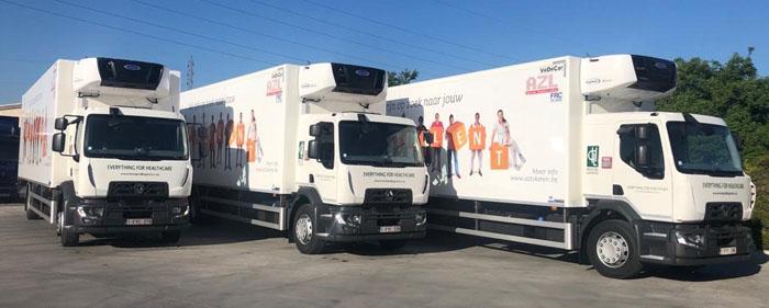 Hospital Logistics kiest opnieuw voor Renault Trucks