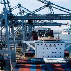 haven antwerpen - port of antwerp - containers