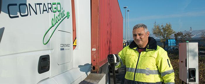 Contargo_snellader e-vrachtwagen