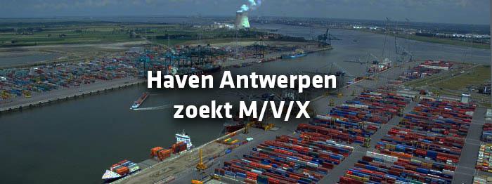Haven Antwerpen zoekt MVX