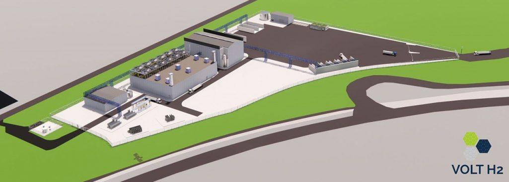 waterstoffabriek North Sea Port