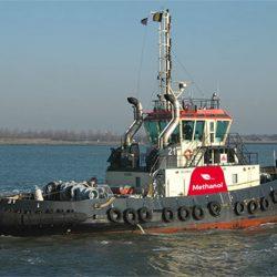 methanol sleepboot - Port of Antwerp