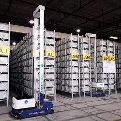 HAI Robots working in warehouse